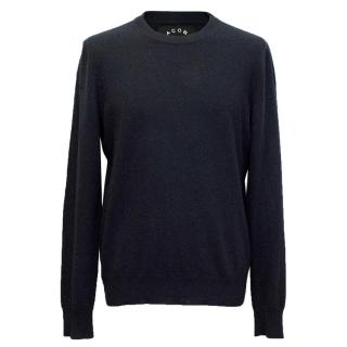 Marc by Marc Jacobs navy cashmere jumper