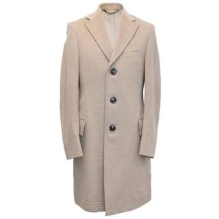 Burberry light beige coat