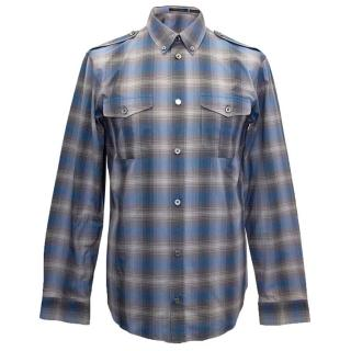 Marc Jacobs blue checked shirt