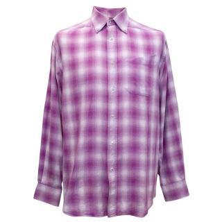 Thierry Mugler Checked Shirt