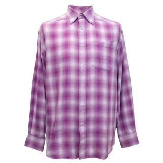 Thierry Mugler Checked Shirt