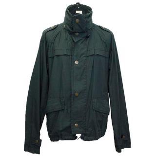 Thomas Burberry green coat
