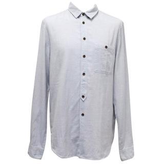 Acne light blue men's denim shirt