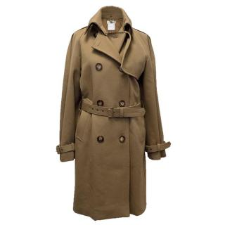Stella McCartney Khaki Trench Coat