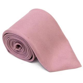 Bvlgari Grape Coloured Tie