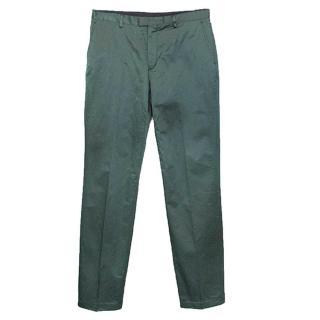 Kenzo Shiny Green Trousers