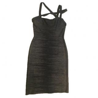 Herve Leger Shimmer Dress
