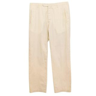 Costume National light beige trousers
