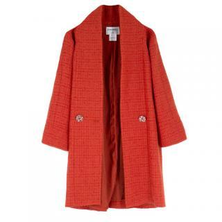 Chanel  Alpaca-Wool Blend Coat