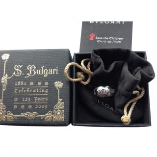 Bvlgari ''Save The Children'' Sterling Silver Ring