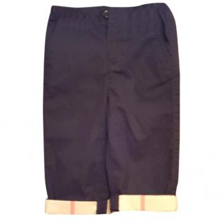 Burberry boys cuff chinos trousers pants