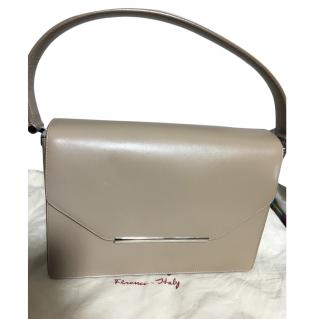 Salvatore Ferragamo Taupe Shoulder bag