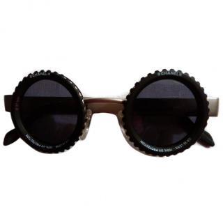 CHANEL Vintage rare Retro 10504 CC Logos Sunglasses