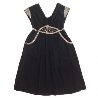 Temperley mid length dress