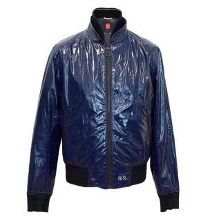 Boss by Hugo Boss blue light weight jacket