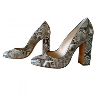 Santoni Rose Women  Collection Python Pumps