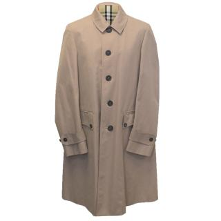 Burberry Dusty Pink  Men's Trench Coat