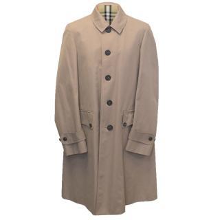 Burberry Dusty Pink  Men's Trench Coat