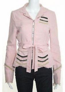 Marc Jacobs Cotton Frayed Military Jacket. US 4, UK 8.