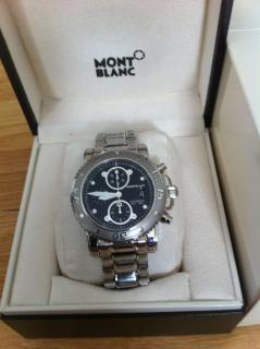 MONT BLANC SPORT STEEL COLLECTION WATCH