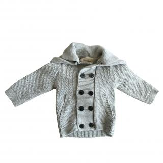 Unisex Kids Burberry Sweater Grey Hoodie