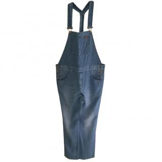 Gucci denim overalls