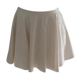 Chalayan white short skirt