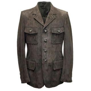 Tom Ford men's suede jacket