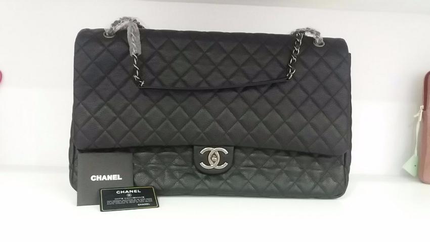 f06342127a24b7 Chanel xxl classic flap bag. 20. 12345678910