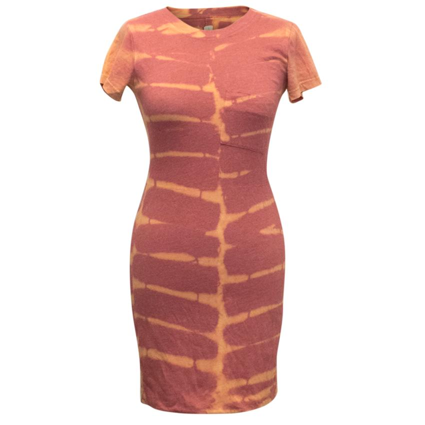Raquel Allegra Basic Tie Dye Jersey Dress