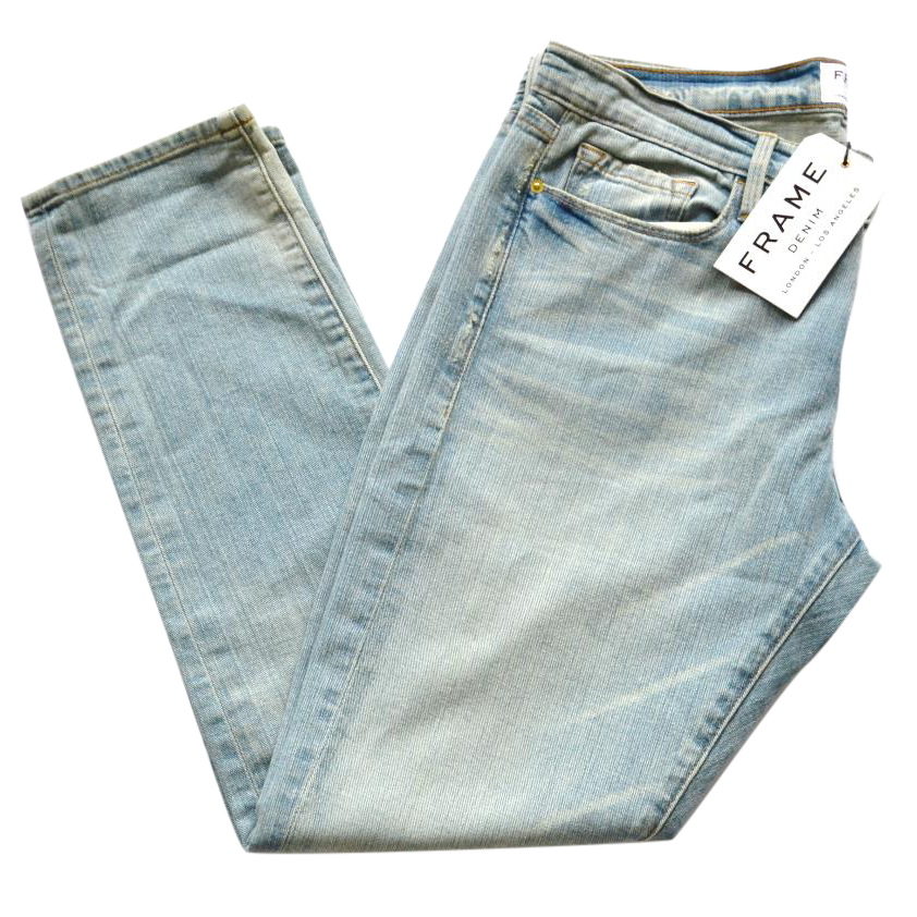 Frame Denim Le Garcon blue jeans