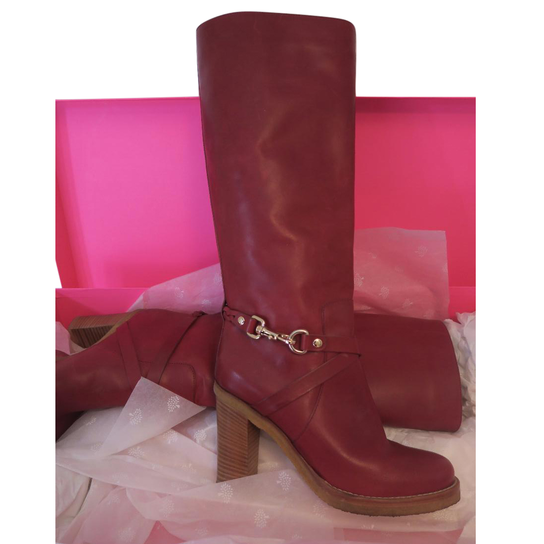 Mulberry Dorset Boots Rare Colour  6093b9be90ef7