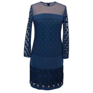 Diane von Furstenberg Tunic Spot Dress