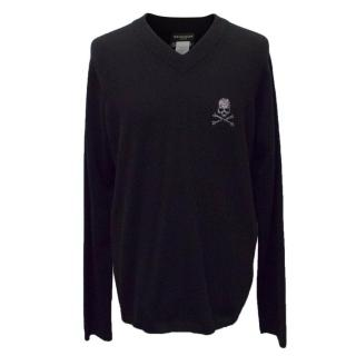 Mastermind Japan men's cashmere jumper