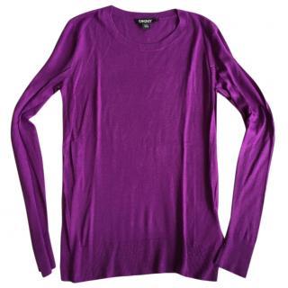 DKNY Purple Sweater