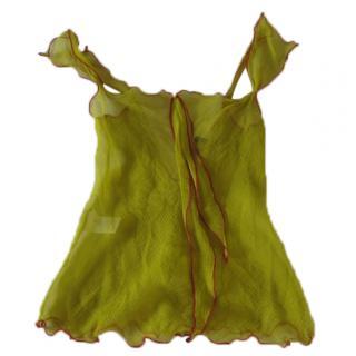 Etro silk top, S