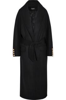Balmain Oversized wool coat