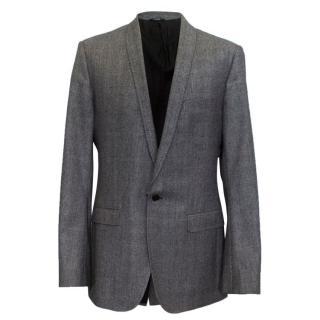 Dolce & Gabbana men's glen check blazer