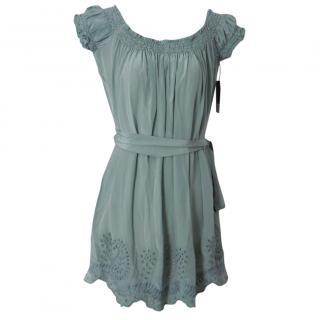 Jovovich Hawk silk dress