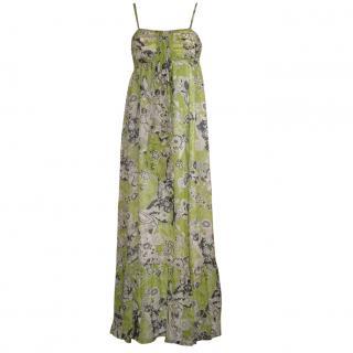 EDINA RONAY long silk dress, size 10