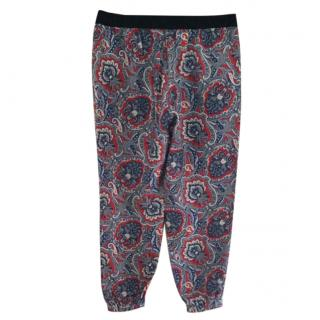 Juicy couture silk trousers