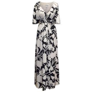 Temperley Silk Print Maxi Dress