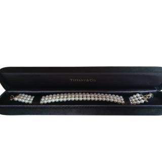 Tiffany & Co 3-Strand Freshwater Pearl Bracelet