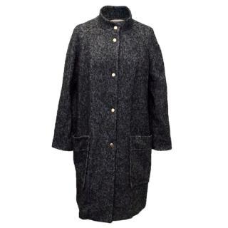 Marni mohair blend coat