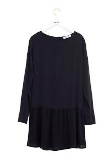 Anine Bing black silk dress