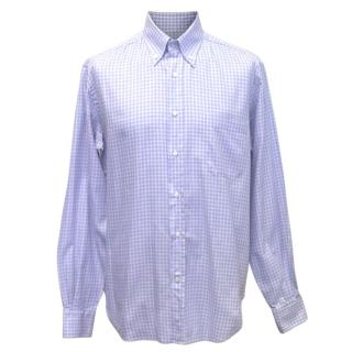 Loro Piana men's checked shirt