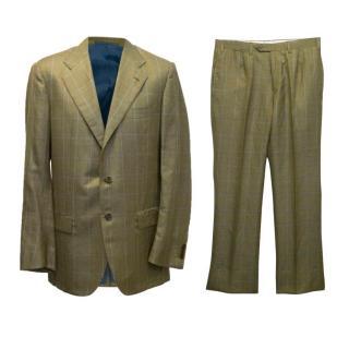 Kiton cashmere blend suit