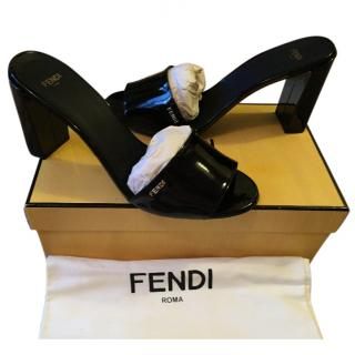 Fendi opera shoes/ ladies sandal - black