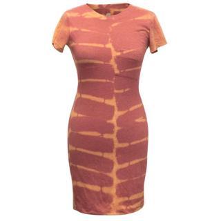 Raquel Allegra Basic Tie Dye Jersey Dress