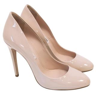 Miu Miu Asta Patent Leather Pumps